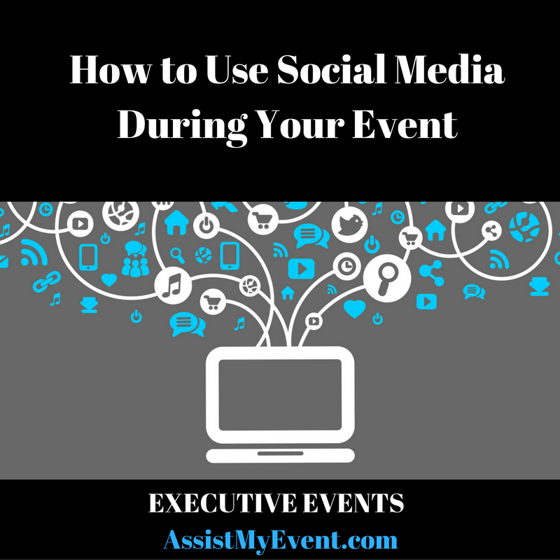 How to Use Social Media During Your Event